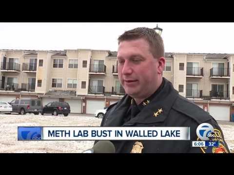 Meth lab bust in Walled Lake