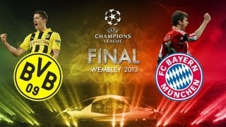 final champions 2013  Borussia Dortmund vs Bayer Munich  Prevision Fifa 13