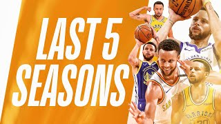 Stephen Curry From DEEP + The Foul!   Last 5 Seasons