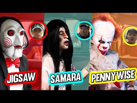 Going Through Drive Thru's Dressed as Horror Celebrities   DENYZEE