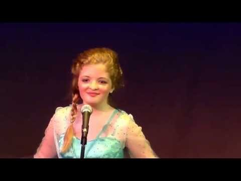 Hannah Grace Main singing Let It Go at Henthorne Theatre in Tulsa-1/1 streaming vf