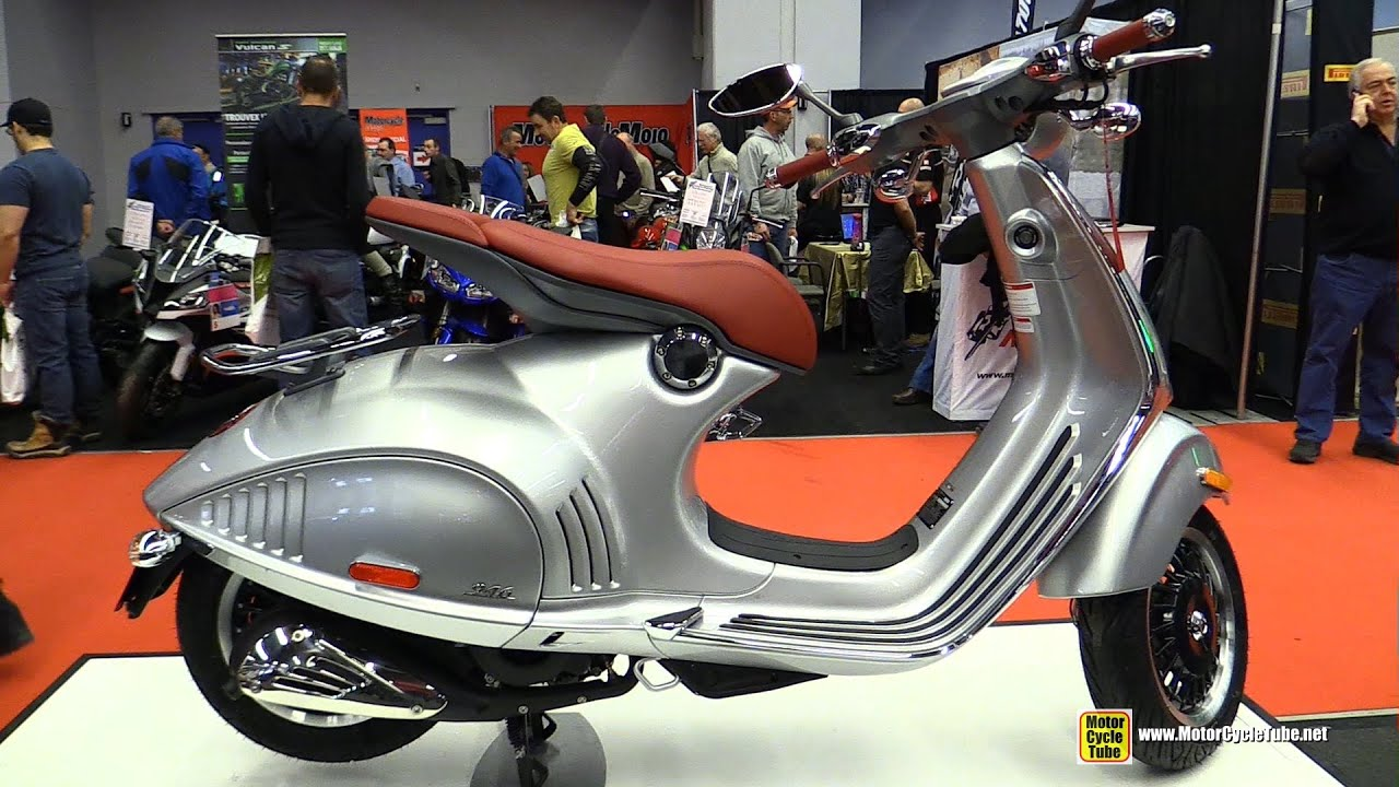 2015 vespa 946 150ie scooter walkaround 2015 salon - Salon de moto montreal ...