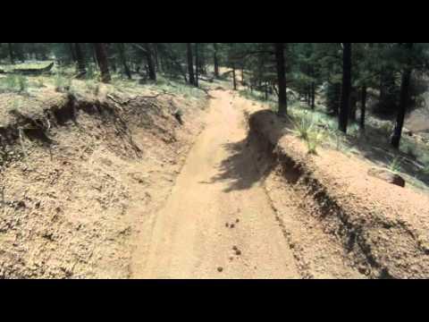 Grab those brakes - last 3 minutes off Noddle Head peak