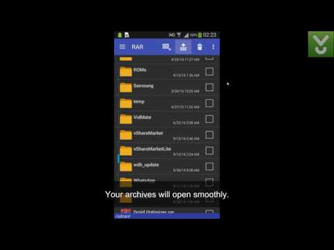 RAR - Create, Unpack, And Manage RAR And ZIP Files On Android - Download Video Previews