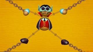 АНТИСТРЕСС ПРОТИВ ВЕРЕВКИ, ЦЕПОЧКИ и НОСКА #11 Дракула игрушка на телефон Kick the Buddy #крутилкины