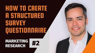 كيفية إنشاء الاستبيان أنا بحوث التسويق #2