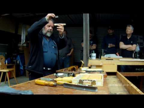 Best London Octagonal Chisel Handle Making by Tom Conroy