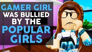 게이머 소녀는 인기 소녀들에게 괴롭힘을 당했고 후회하기 위해 살았습니다! Roblox 영화 (Brookhaven RP)