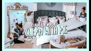HUGE DISASTER CLEAN WITH ME! MAJOR CLEANING MOTIVATION