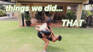 Professional Dancer Teaches Me Her WORKOUT ROUTINE