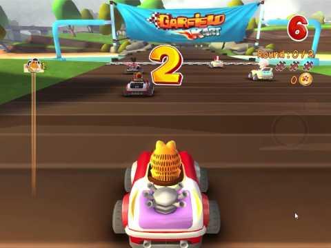 Garfield Car Racing 2