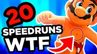 20 SPEEDRUNS WTF