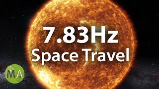 Pure Schumann Resonance 7.83Hz, Alpha Relaxation Isochronic Tones (Space Travel)