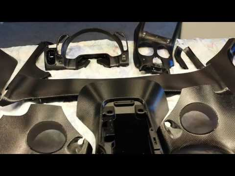 Corvette C6 Z06 3m Carbon Fiber Interior Wrap