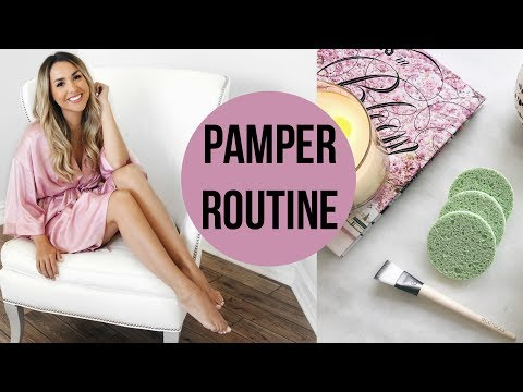 CURRENT DAY TIME PAMPER ROUTINE FOR GLOWY SKIN