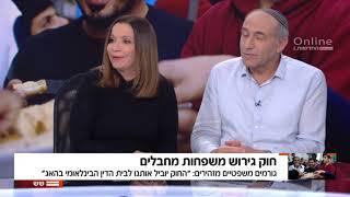שש עם עודד בן-עמי: עימות עם שלי יחימוביץ' - גירוש משפחות מחבלים