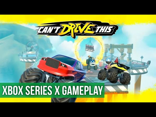 Can't Drive This - Gameplay (Xbox Series X) HD 60FPS