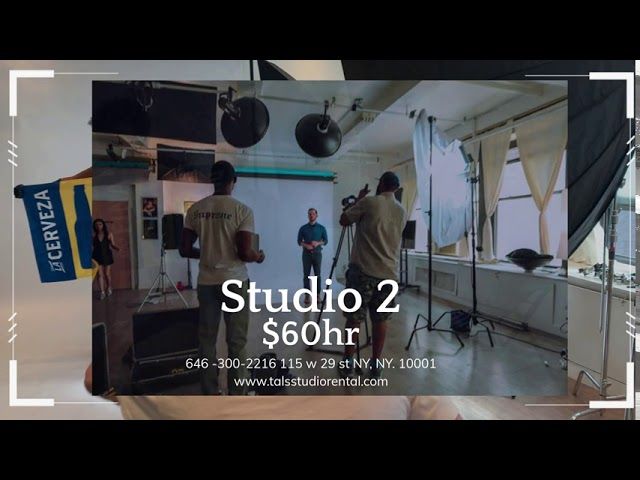NYC Photography Studio Rental for All Your Production Needs