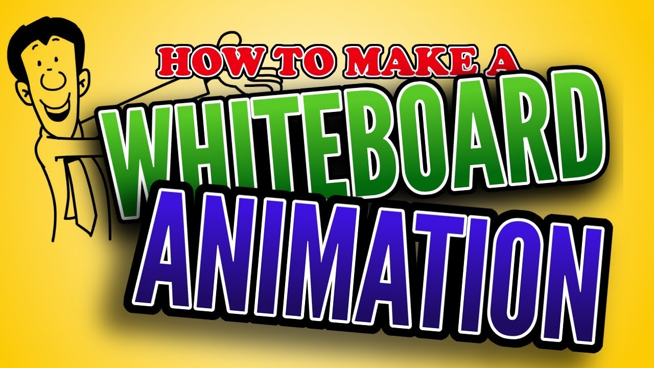 How To Make a Whiteboard Animation - Tutorial ⭐⭐⭐⭐⭐