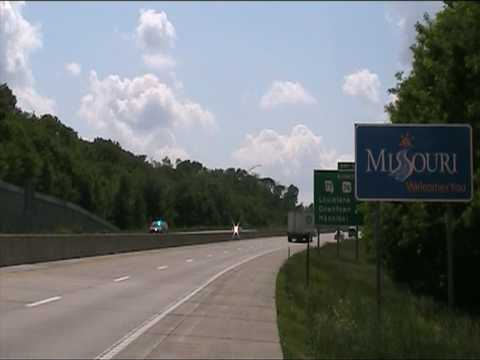 Missouri state line 24th May 2010
