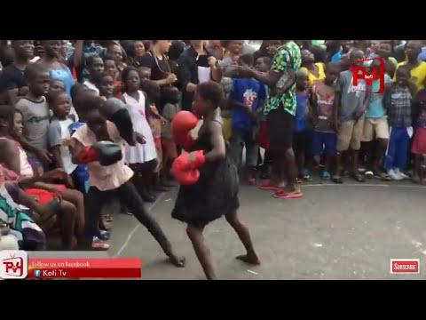 FUNNY BOXING IN GHANA
