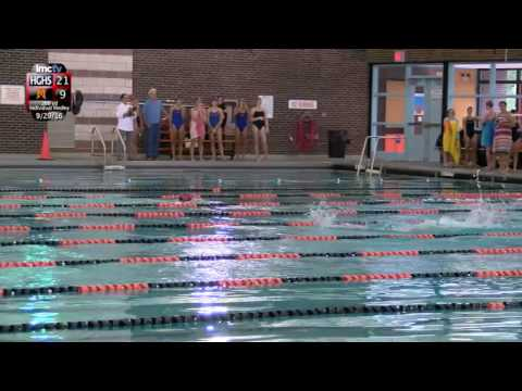 LMC Varsity Sports - Girls Swimming - Horace Greeley at Mamaroneck - 9/29/16