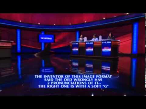 Jeopardy' wades into 'GIF' pronunciation battle - Los