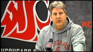 WSU Head Coach Mike Leach gives his thoughts on 'Deflategate'