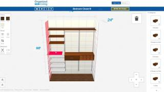 Create Your Dream Closet in Less than 72 Inches New Design Tool