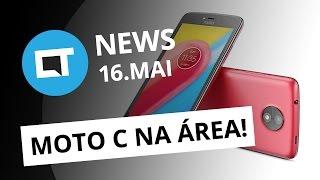 Moto C é o novo smartphone da Lenovo; Netflix pode ficar mais cara no Brasil e + [CT News]