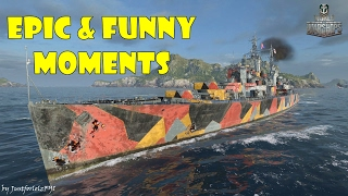 World of Warships - Epic & Funny Moments | Double Trouble