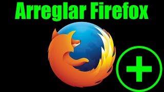 Arreglar Firefox, reset 🔄