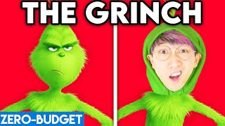 THE GRINCH WITH ZERO BUDGET! (GRINCH MOVIE PARODY BY LANKYBOX!)