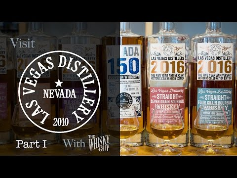 The Las Vegas Distillery in Las Vegas, NV, Part 1 - Distillery Tours with The Whisky Guy