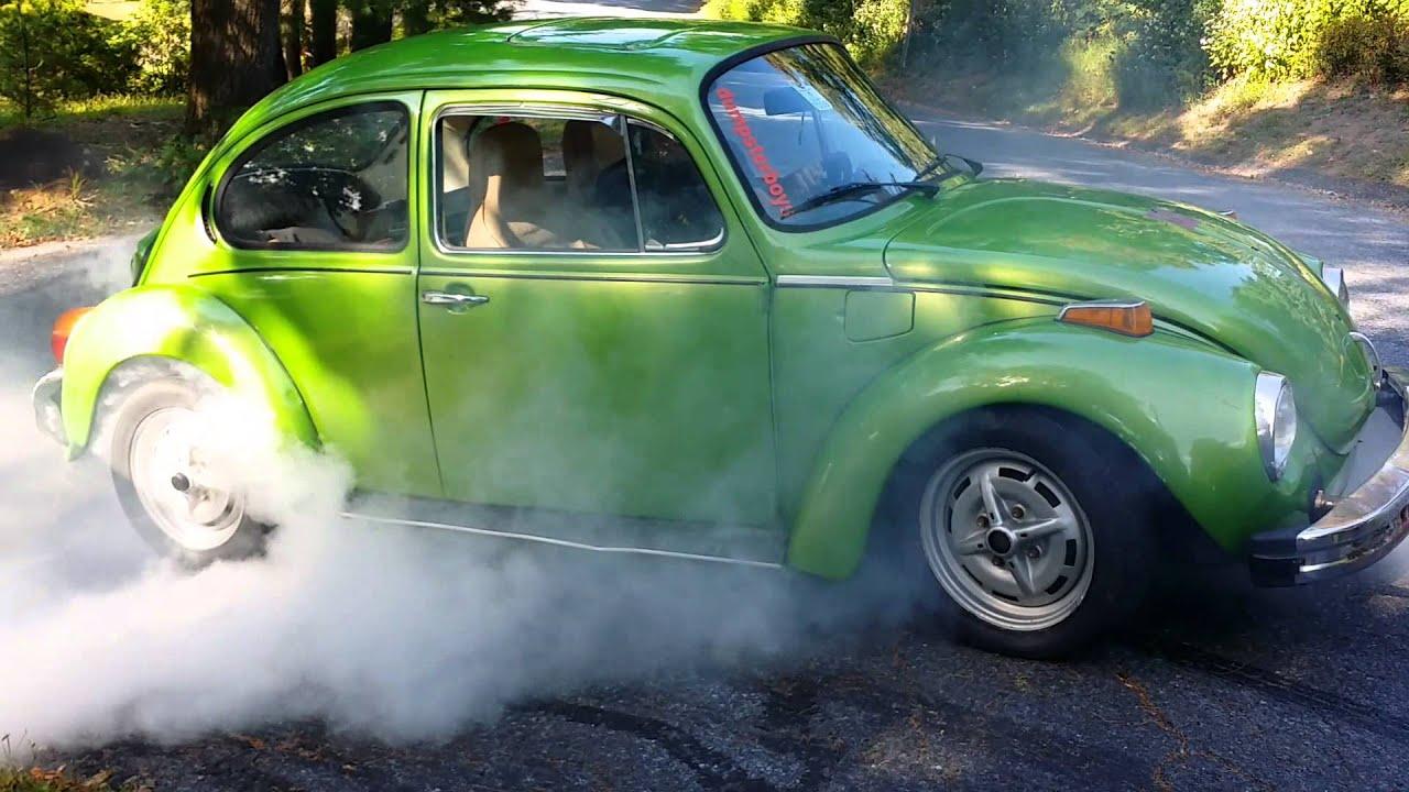 75' Beetle Burnout - YouTube