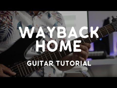 Way Back Home (Guitar Tutorial) - Shaun ft. Conor Maynard
