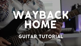 Way Back Home Guitar Tutorial Shaun.mp3