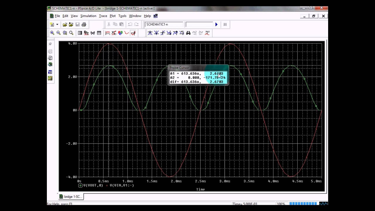 Bridge rectifier with pspice youtube bridge rectifier with pspice ccuart Image collections