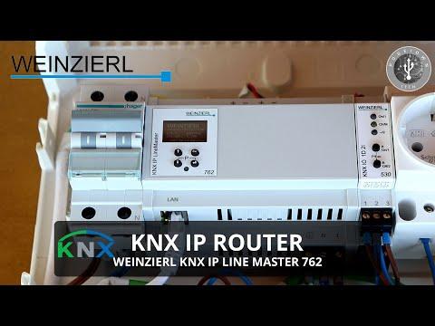 KNX IP Router - Weinzierl KNX IP Line Master 762