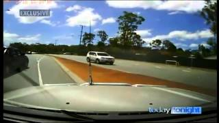 Unbelievable road rage attack.