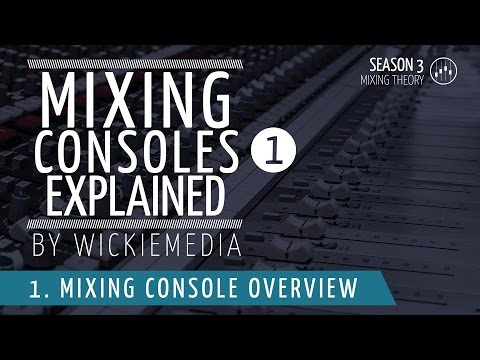 Mixing Consoles Explained (part 1)