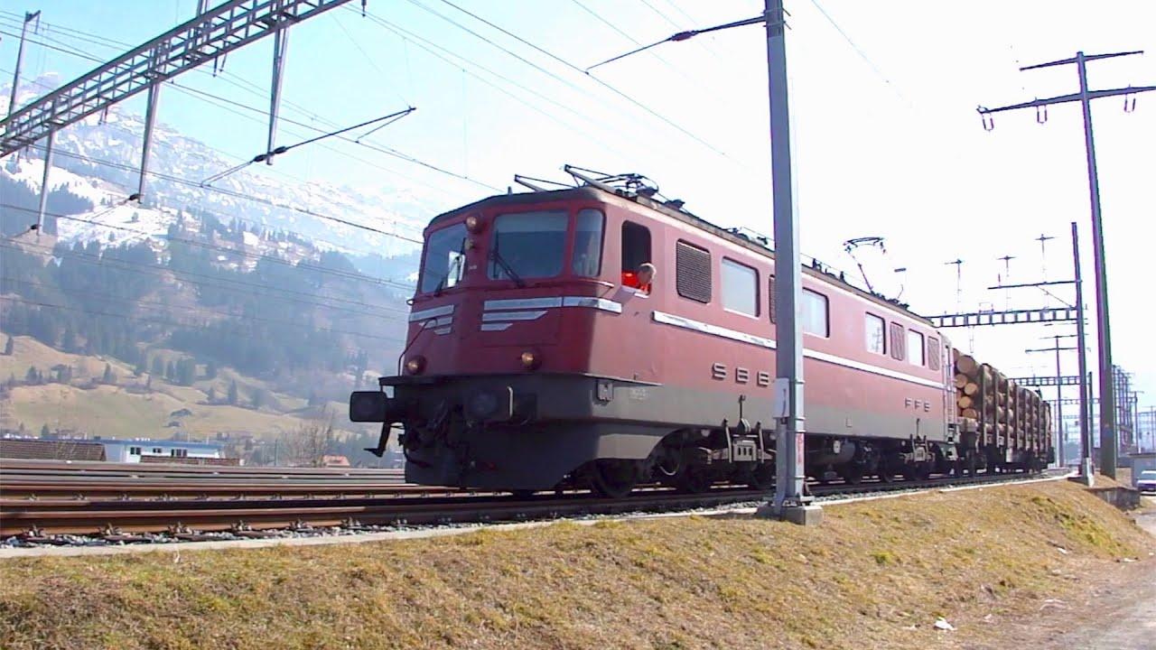 Download Wagenladungsverkehr in Frutigen [11.3.11] Ae 6/6 11419