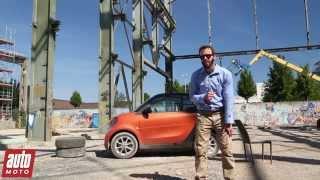 2015 Nouvelle Smart Fortwo DCT : une boîte qui change tout - Essai AutoMoto