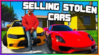 GTA 5 Roleplay - SELLING STOLEN CARS | RedlineRP