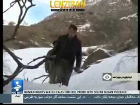 Hunters Tried to Profit of Snow and Cold to Kill Wild Life in Dena - Iran