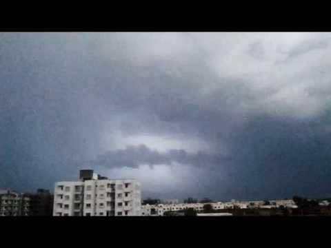 Lightning Storm in Vadodara | 1/6/2017