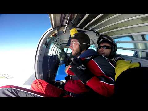 Skydiving at the Bay of Islands