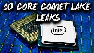 Intel ke 10 CORE Comet Lake CPU's with GT2 iGPU ka leak Samne aaya hae!!! [HINDI]