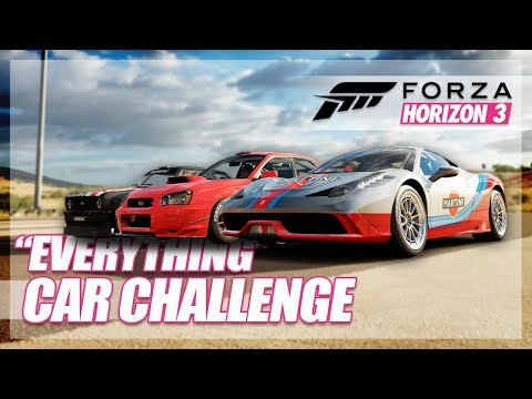 Forza Horizon 3 - Best Car That can do Everything! (All In One Challenge) thumbnail