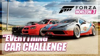 Forza Horizon 3 - Best Car That can do Everything! (All In One Challenge)
